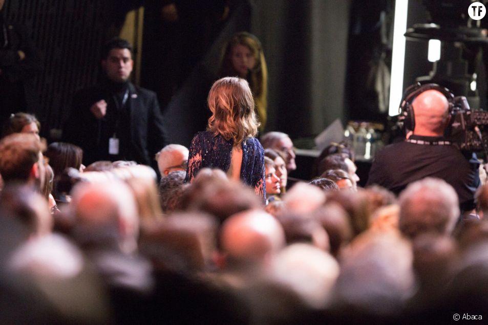 Adèle Haenel quitte la cérémonie des César après le sacre de Polanski.