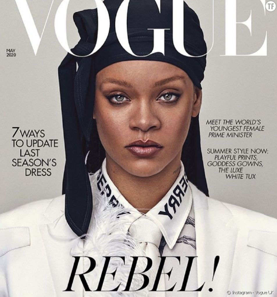 """""""Rebelle !"""", le look pop mais surtout politique de Rihanna."""