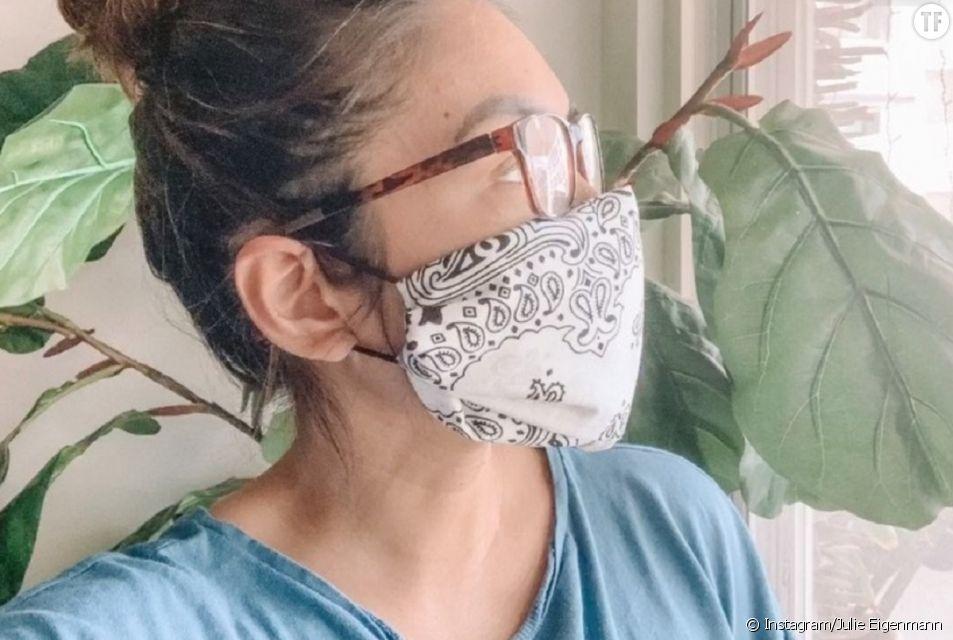 Le meilleur tuto pour se fabriquer un masque sans coudre