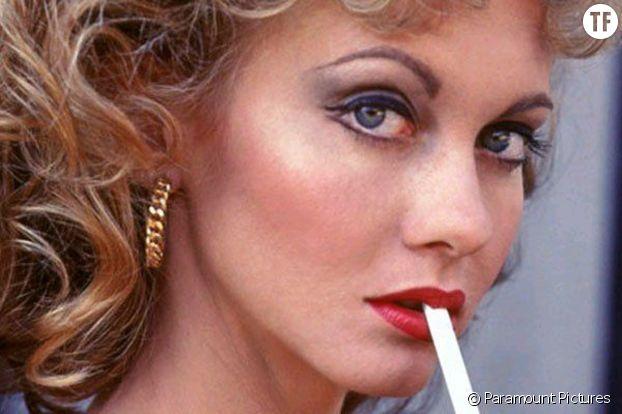 """""""Grease"""" et son makeup culte."""