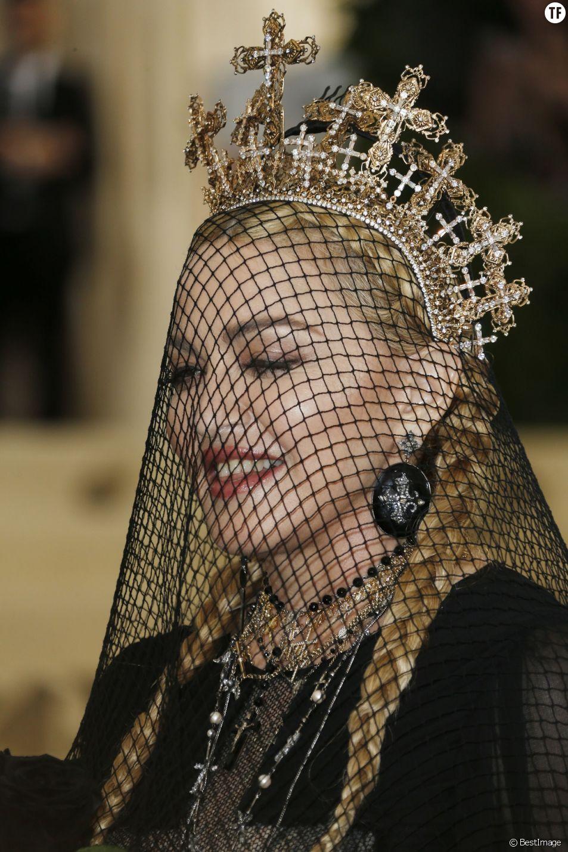 Madonna, reine de la pop et de la provoc'.