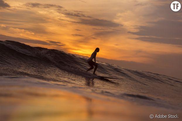 """""""Et puis, c'est tellement beau une femme qui surfe"""""""