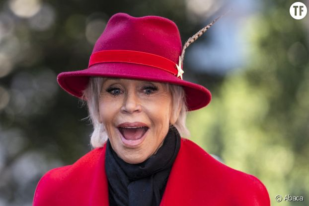 Jane Fonda, manifestante à vie.