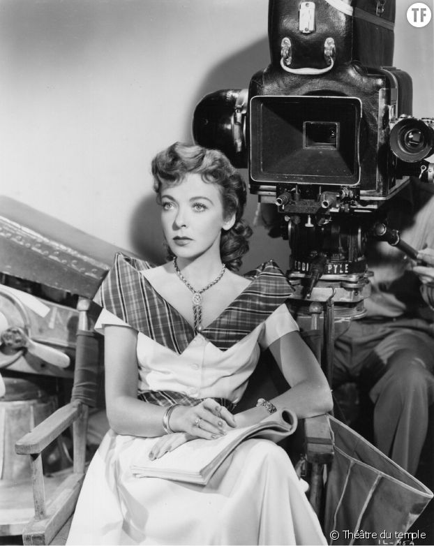 La réalisatrice, productrice et actrice Ida Lupino