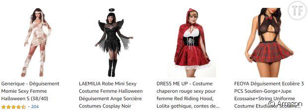 Déguisements d'Halloween pour femmes, tout un poème.