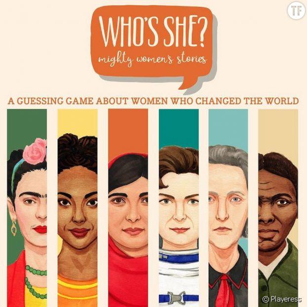 """""""Who is she ?"""", le """"Qui est-ce"""" féministe et révolutionnaire."""