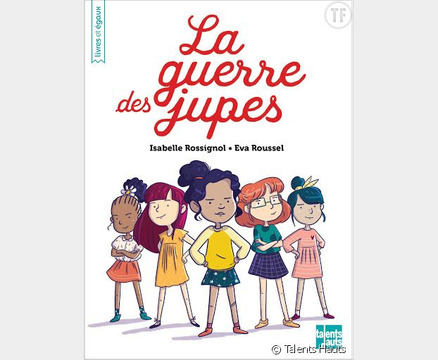 """""""La guerre des jupes"""", l'album compris dans la Box Kids de la Librairie des femmes."""