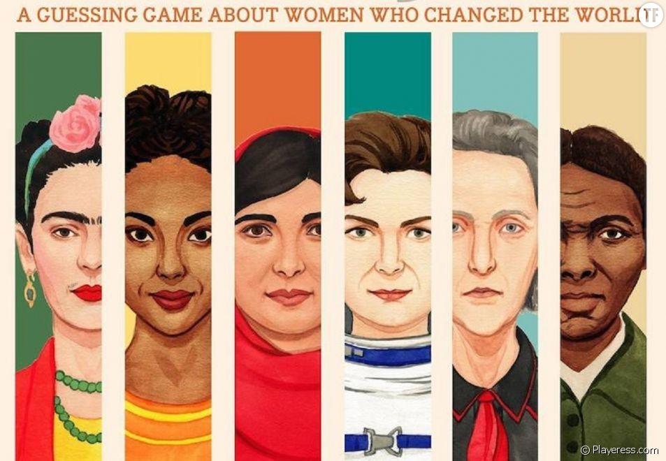 """Who Is She?"", le jeu féministe signé Playeress.com"