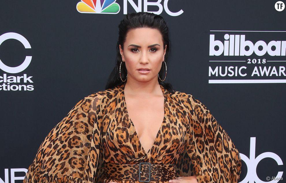 Demi Lovato lors des Billboard Music Awards, en 2018.