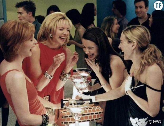 De gauche à droite : Miranda Hobbes, Samantha Jones, Charlotte York et Carrie Bradshaw.