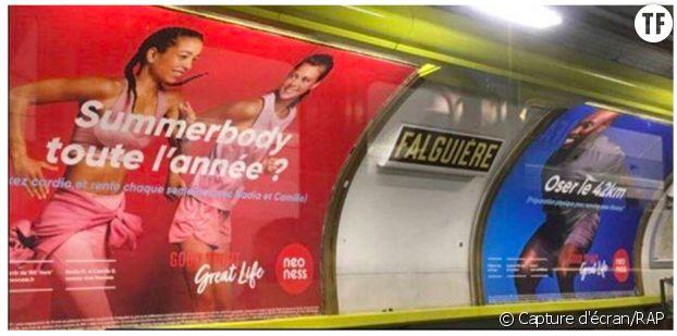 Deux pubs pour femmes et pour hommes comparées par l'Observatoire de la publicité sexiste.