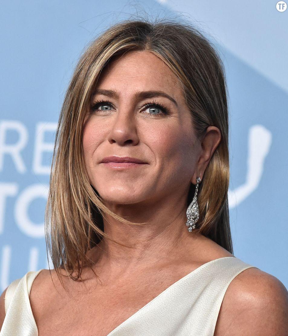 Jennifer Aniston aux Screen Actors Guild Awards le 19 janvier 2020