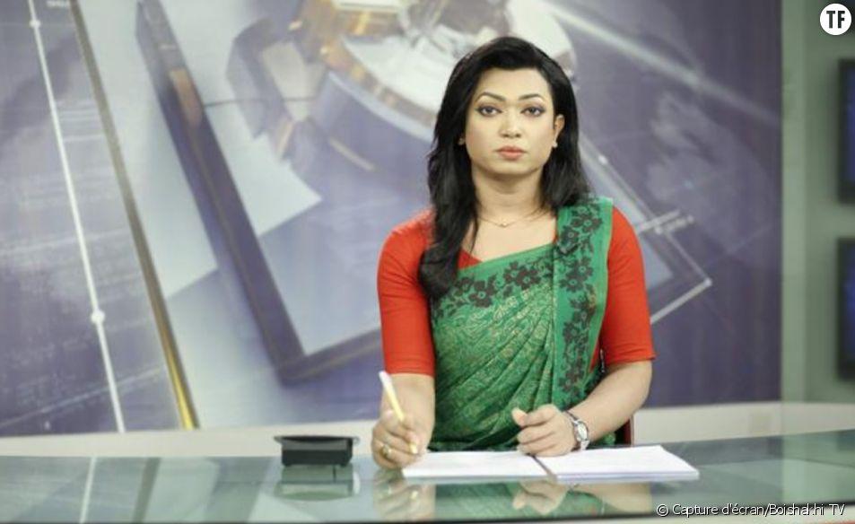 La présentatrice transgenre Tashnuva Anan Shishir écrit l'Histoire au Bangladesh