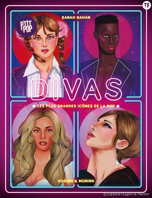 """Avec son ouvrage super pop """"Divas"""", la journaliste Sarah Dahan délivre une ode pêchue aux vedettes féminines et féministes."""