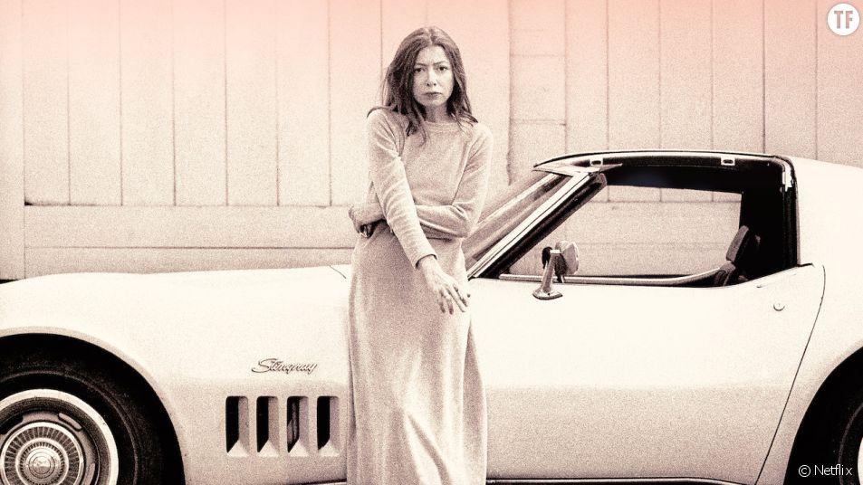 Joan Didion dans le documentaire Netflix