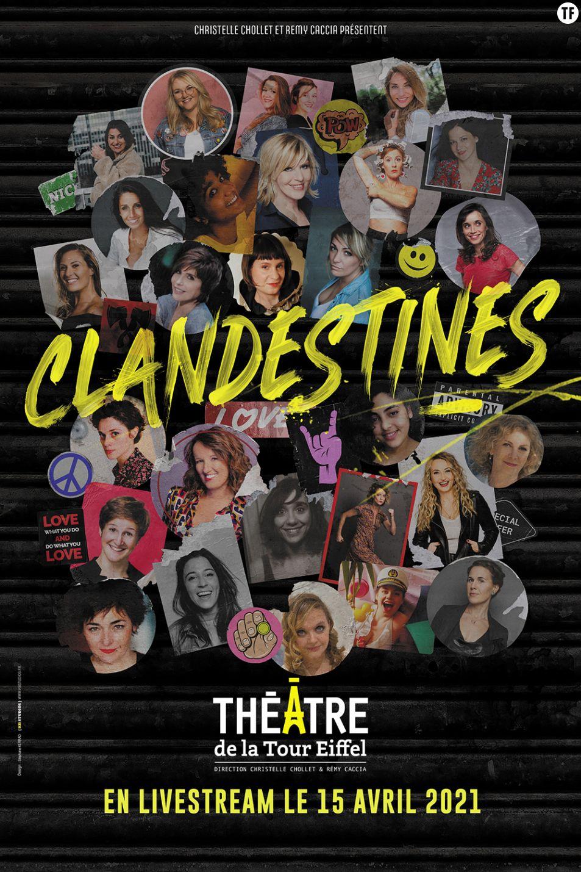 """""""Clandestines"""", le show comique à regarder en live stream"""