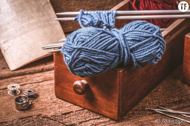 Le tricot, une activité zen.