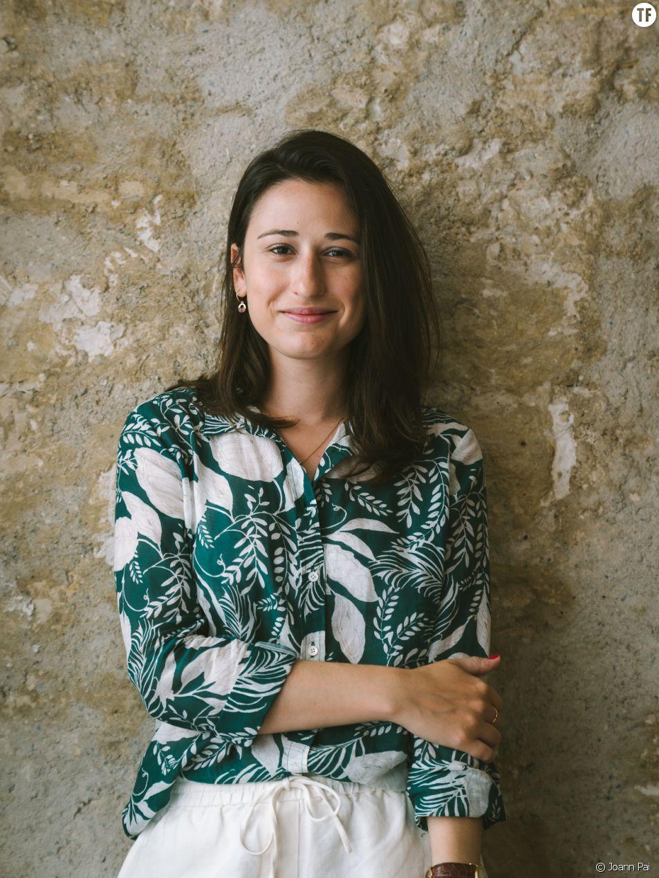"""Lindsey Tramuta, autrice de """"La nouvelle Parisienne"""" (ed. Gallimard) © Joann Pai"""