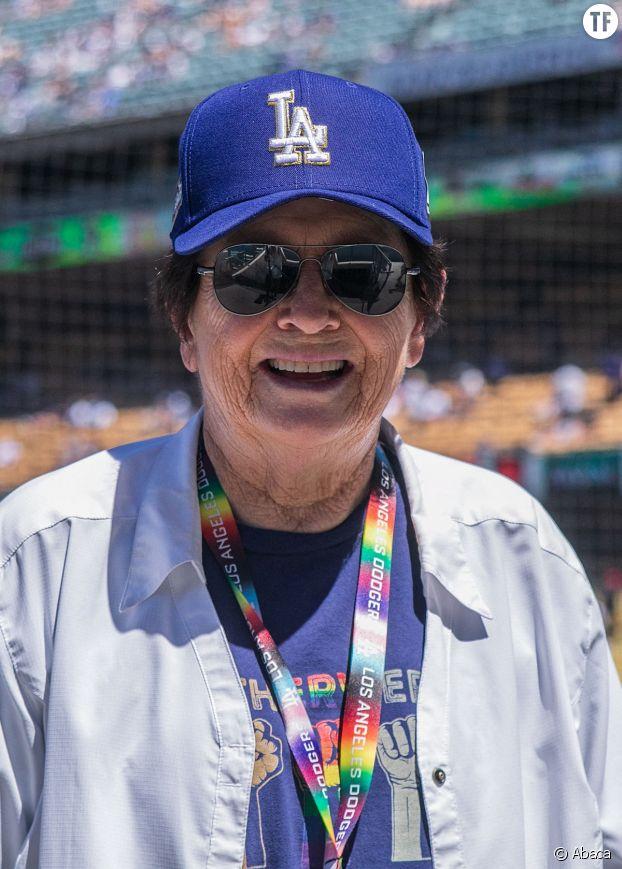 """Billie Jean King, vedette de la fameuse """"Bataille des Sexes""""."""