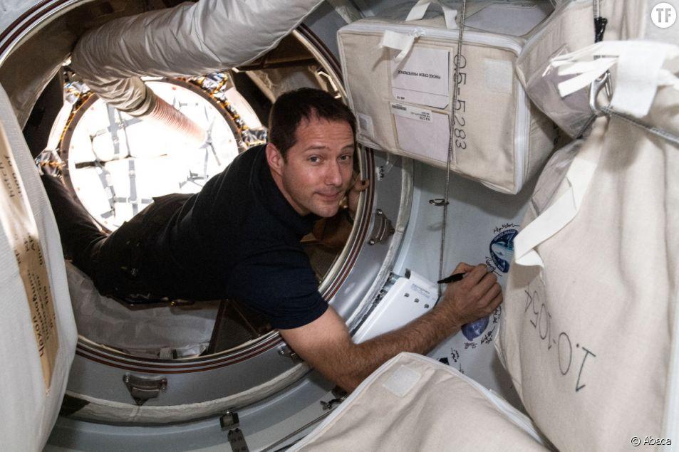 Thomas Pesquet a lu du Marguerite Duras dans l'espace (et on applaudit)
