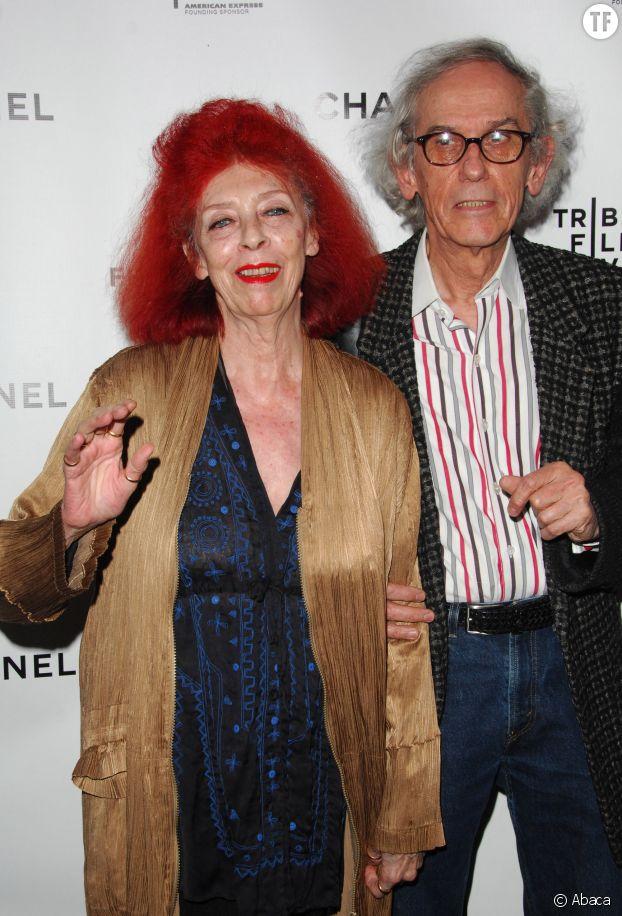 Christo et Jeanne-Claude au Tribeca Film Festival à New York le 28 avril 2008