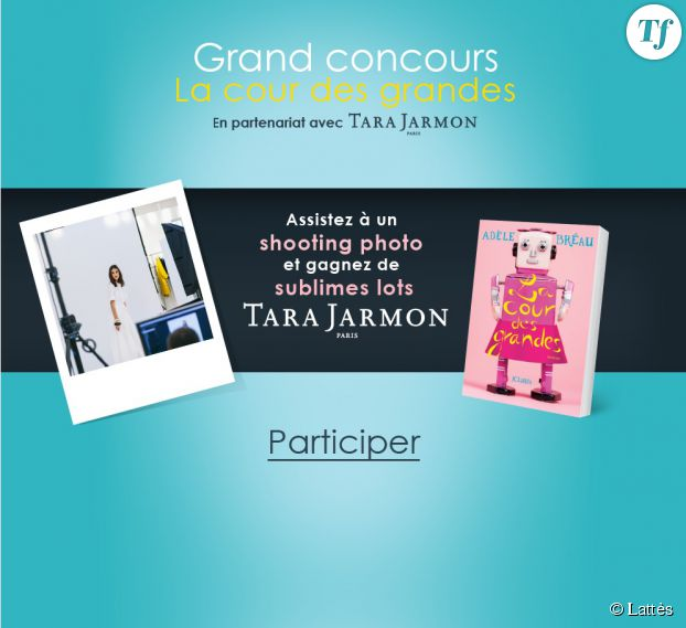 Gagnez des tenues Tara Jarmon et lisez les premiers chapitres du livre