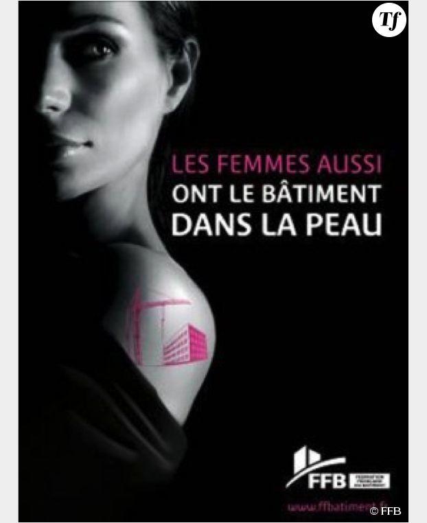 Campagne lancée par la FFB à l'occasion de la Journée de la Femme en 2013.