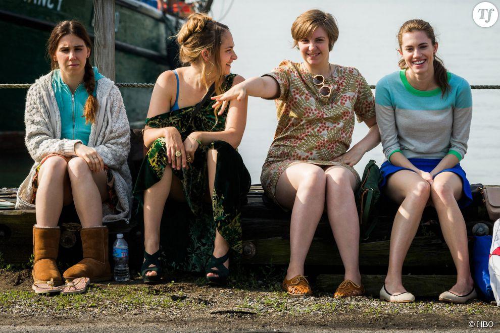Le casting très féminin de la série Girls créée par Lena Dunham