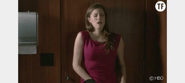 Girls : Marnie en train de se masturber dans un épisode de la saison 1