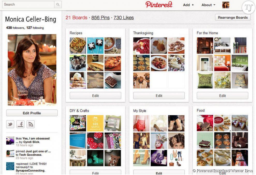 Monica aime faire la cuisine et ranger son appartement. Des passions qu'elle partage sur Pinterest.
