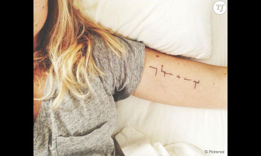 Un Tatouage A L Interieur Du Bras Une Citation Terrafemina