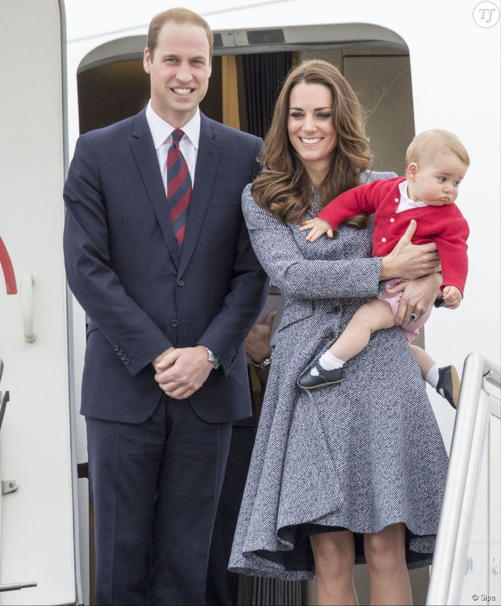 enfant kate et william prénom