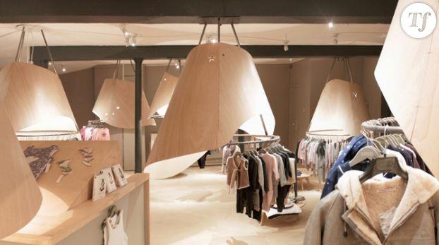 La boutique de vêtements pour enfants Le marchand d'étoiles à Paris.
