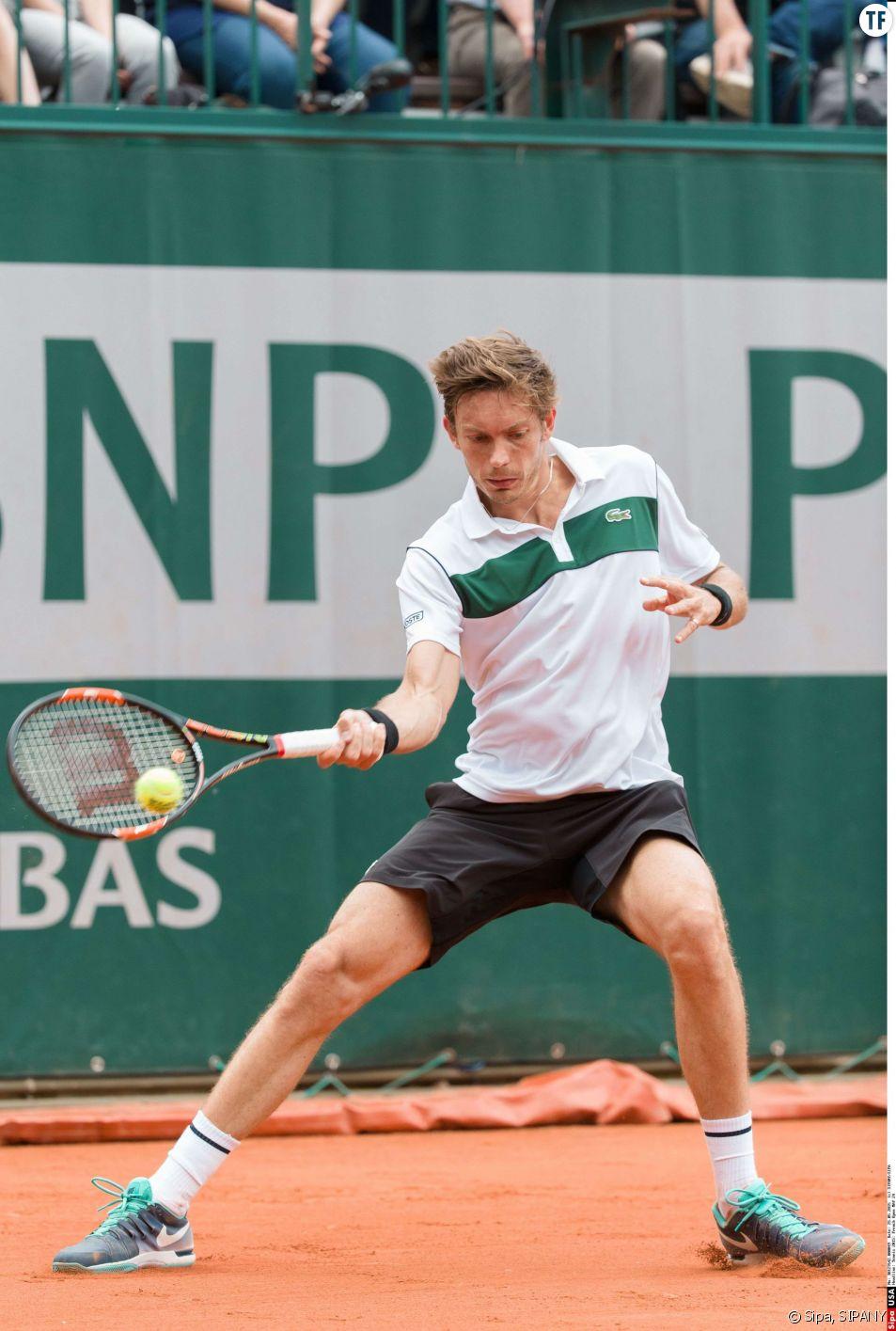 Nicolas Mahut contre Kimmer Coppejans dimanche 24 mai 2015 à Roland Garros.