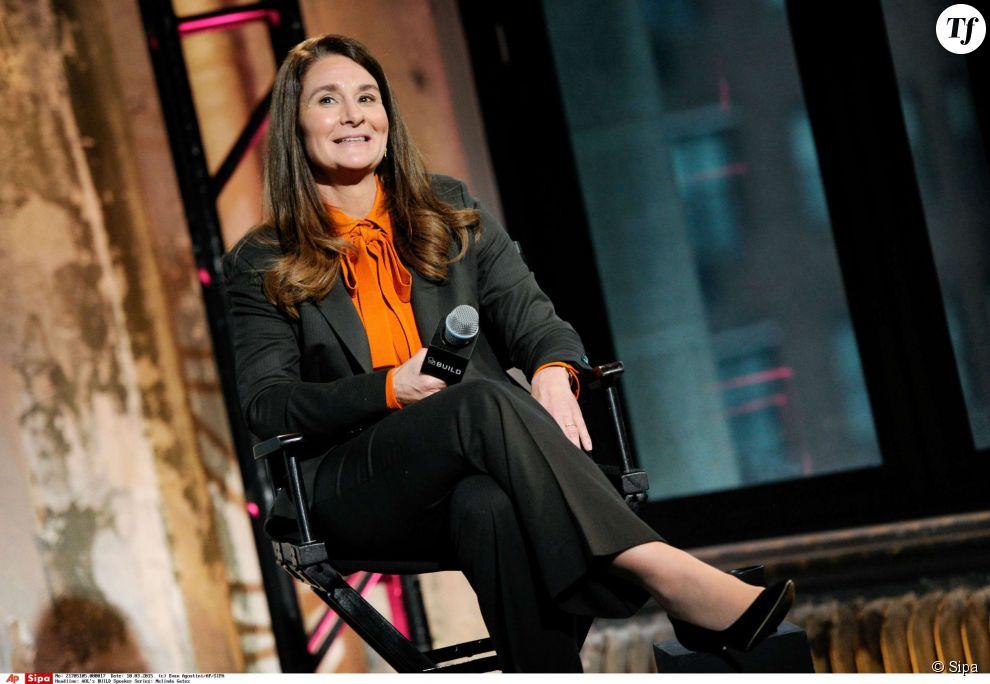 """La philantrope Melinda Gates complète le podium de Forbes. L'épouse de Bill Gates et co-présidente de la Fondation Gates avait déjà obtenu le titre e """"personnalité de l'année"""" en 2005."""