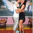 Vivien et Nathalie ( les Anges 7 ). Les anges 7 retrouvailles a paris . 26/05/2015-Paris