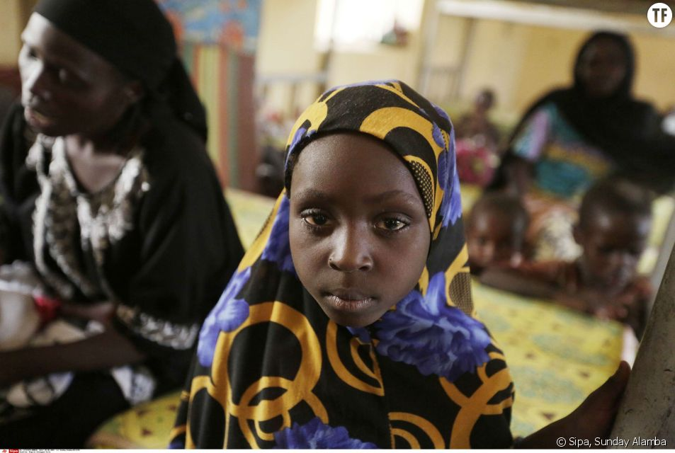 Une jeune Nigeriane le 3 mai 2015.