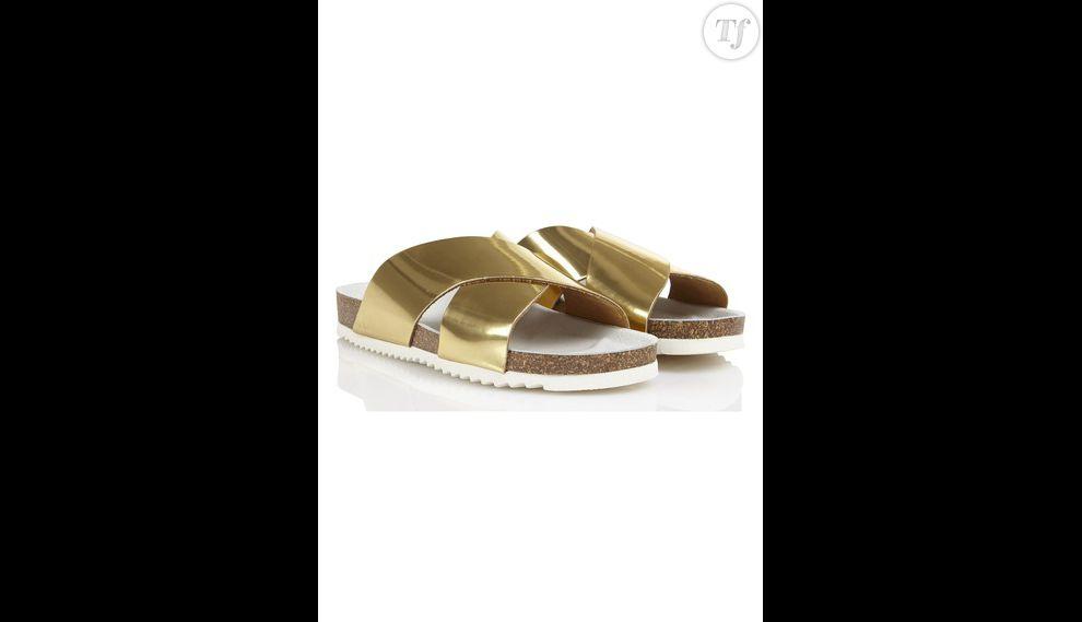 Sandales dorées Jonak