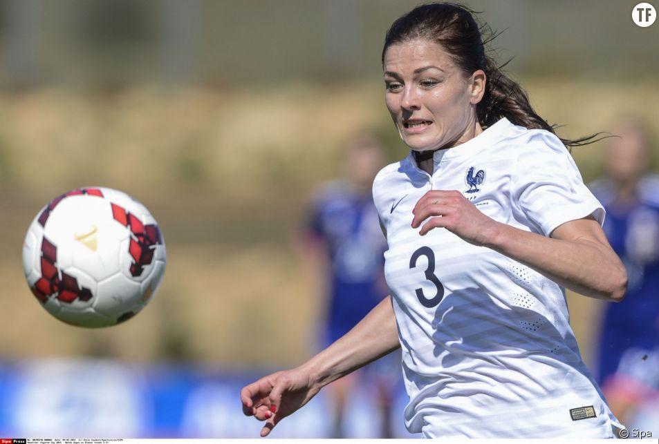 Laure Boulleau, arrière gauche de l'équipe de France et du PSG.