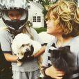 Apple Martin et Moses Martin, les enfants de Gwyneth Paltrow
