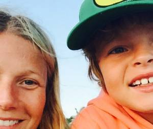 Gwyneth Paltrow et son fils