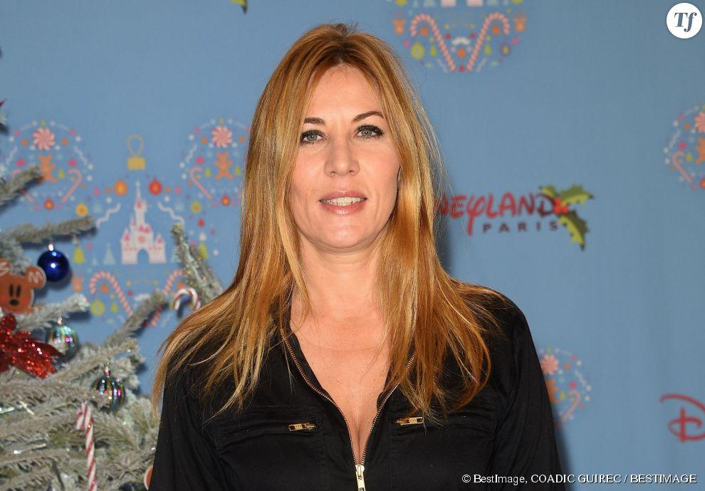 Mathilde Seigner à Disneyland