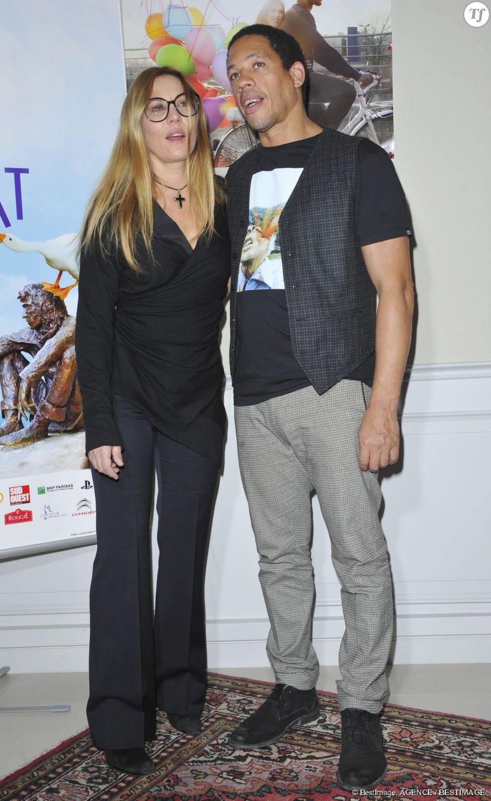 Mathilde Seigner et Joey Starr