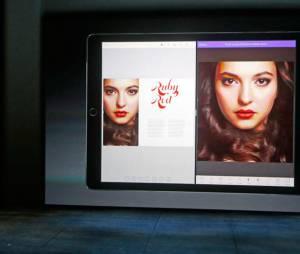 Le sourire artificiel forcé de ce mannequin a entaché la sortie du nouvel iPad d'Apple en collaboration avec Adobe...