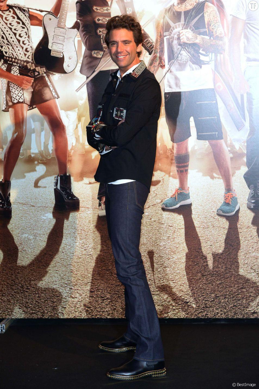 Mika - Conférence de presse X factor 2015 le 8 septembre 2015 à Milan. Press conference X Factor 2015 08-09-2015 id 100328