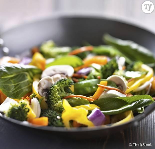 La recette inratable d'un wok de légumes