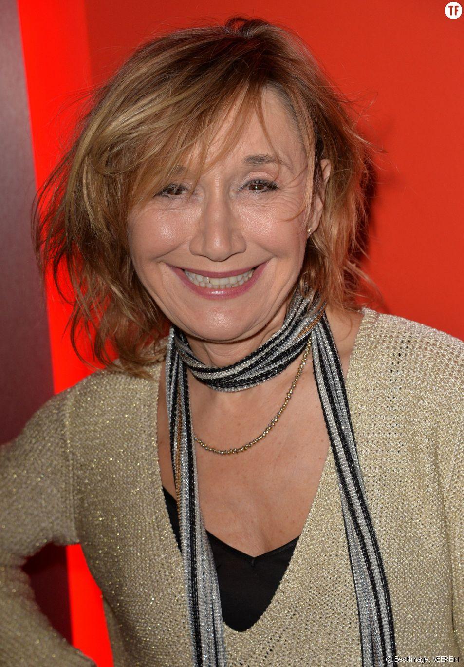 La comédienne Marie-Anne Chazel