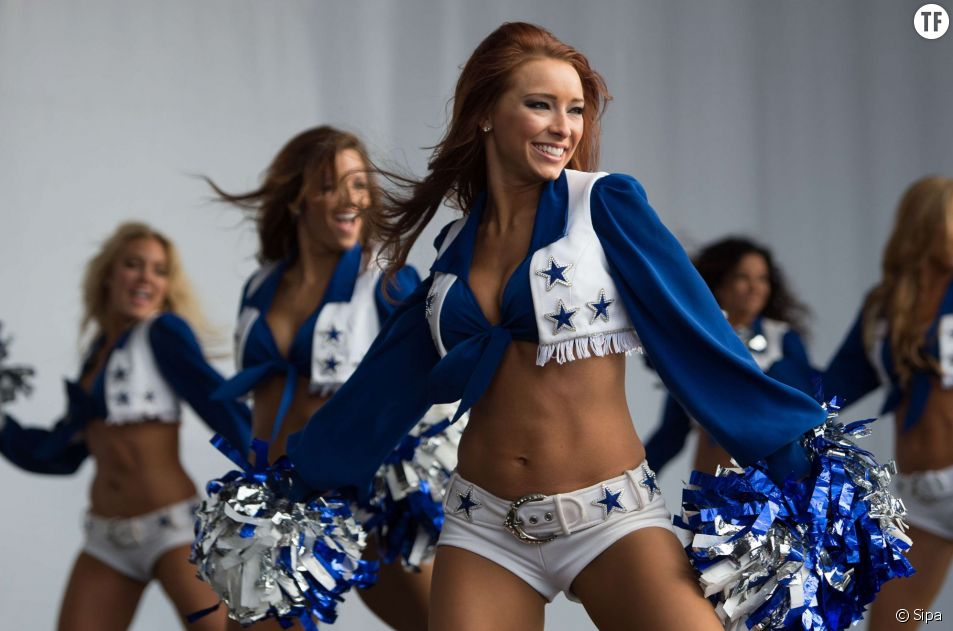 Les pom-poms girls des Dallas Cowboys