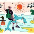 Hunter, 13 ans, dans un monde avec des dauphins, des pands volants et un morse magicien.
