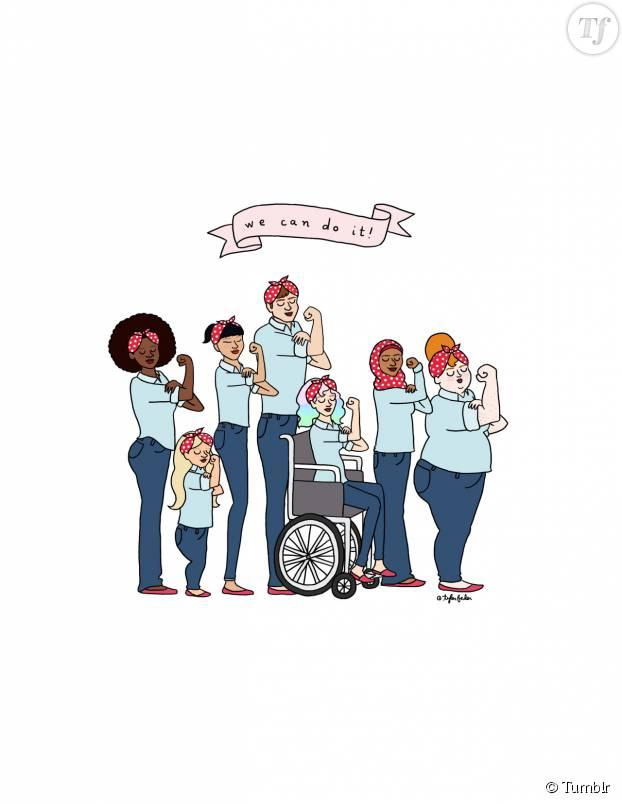 """Toutes de vraies femmes, toutes avec un """"vrai corps"""", nous avons toutes les droit d'être représentées visuellement et de vivre sans le moindre reproche quant à notre apparence."""